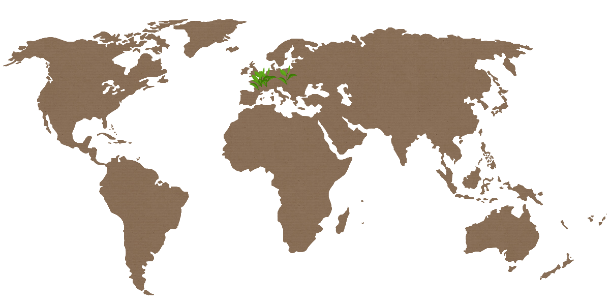 Deltasacs's eco-responsible packaging production sites around the world : 2 in France (Pont Evêque – Saint Jean de Muzols) 1 in Hungary (Budapest)