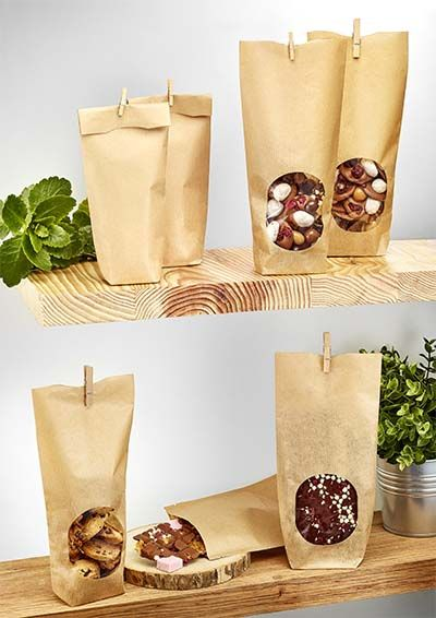 Choose a eco-friendly packaging made in France with the Deltasacs eco-friendly hard-bottom bag